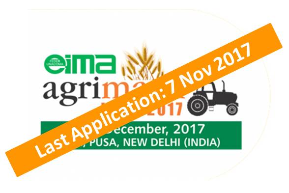 Eima AgriMach <br>7 – 9 Dec 2017 <br> New Delhi – India