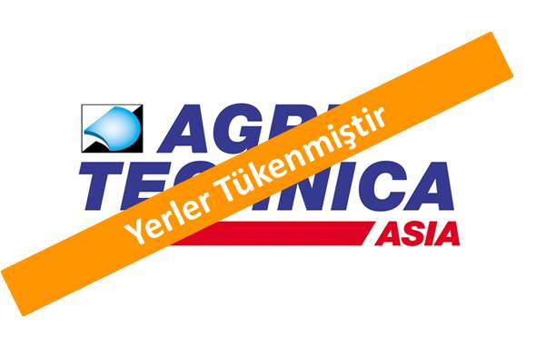 AgriTechnica Asia <br> 15 – 17 Mart 2017 Tayland