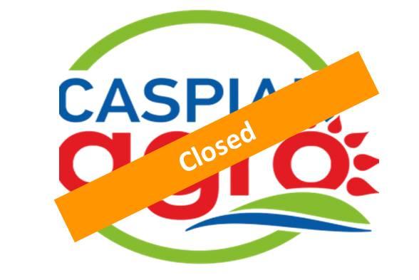 Caspian Agro <br>17 – 19 May 2017 <br> Azerbaijan