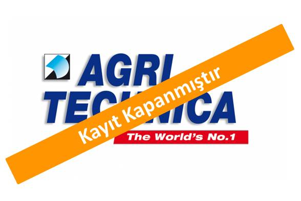 AgriTechnica <br>12 – 18 Kasım 2017 Almanya