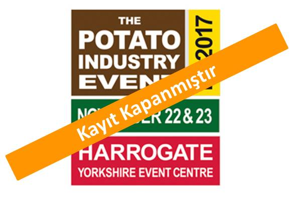 Potato Industry Event<br>22 – 23 Kasım 2017 İngiltere
